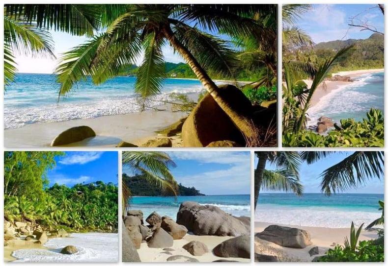 Banyan Tree Seychellen Strand