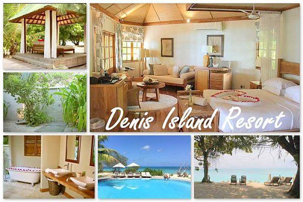 Denis Island Resort, die Villen und Hotelanlage