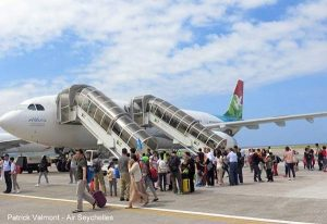 Flughafen Seychellen - Ankunft auf dem Mahe Airport