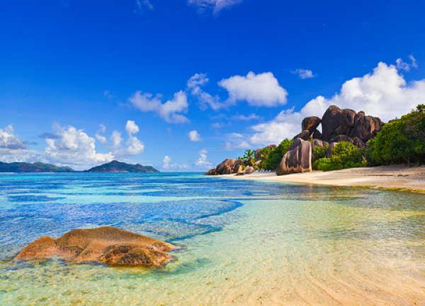 Seychellen Strand Anse d'Argent La Digue
