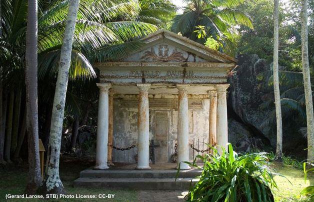Silhouette Island Seychelles Dauban Mausoleum