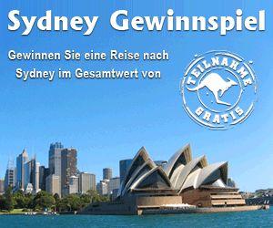 Sydney Reise gewinnen