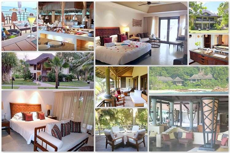 Suiten, Villen und Restaurants im Constance Lemuria Resort