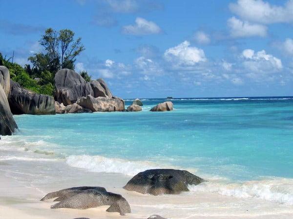 Ihr urlaubt auf La Digue? Anse Source d'Argent Seychelles Foto
