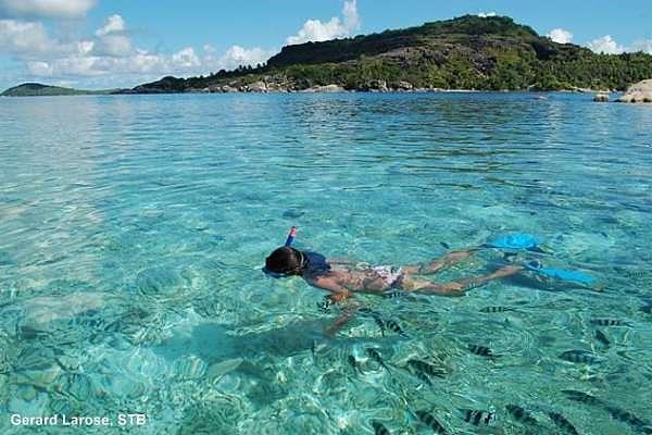 St Anne Seychellen schnorcheln